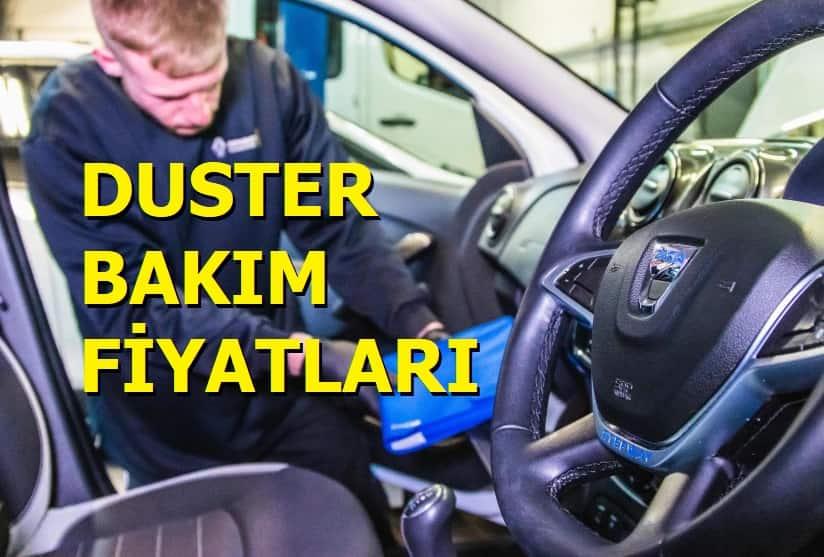 Dacia Periyodik Bakım Fiyatları 2021