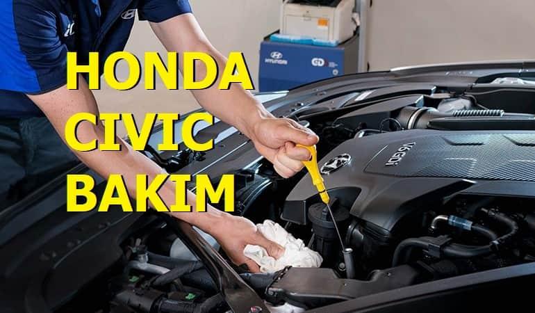 Honda Civic 20.000 bakımı