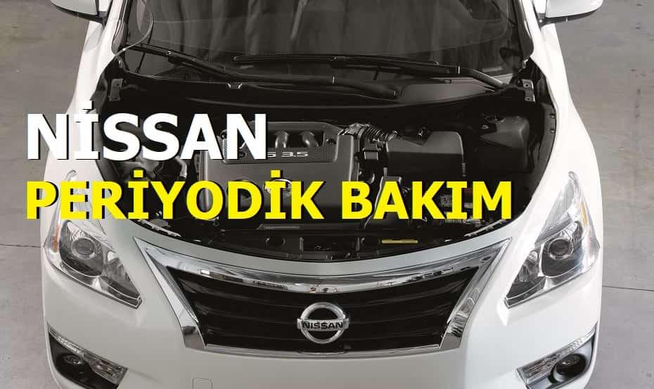Nissan Periyodik Bakım Ücretleri 2021
