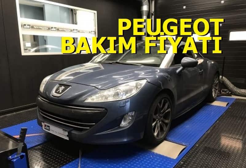 Peugeot Bakım Fiyatları 2021