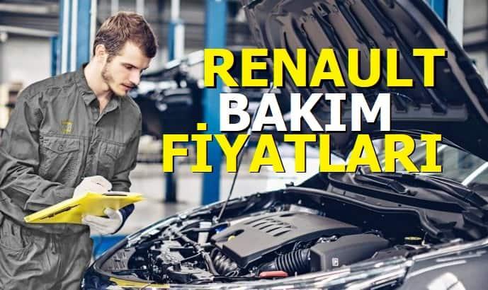Renault Periyodik Bakım Fiyatları 2021