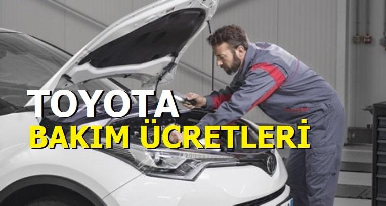 Toyota periyodik bakım ücretleri 2021