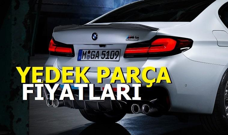 BMW Yedek Parça Fiyatları